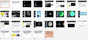 Astronomy - The Moon Unit (POWERPOINTS)