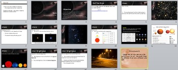 Astronomy - The Stars Unit (POWERPOINTS)