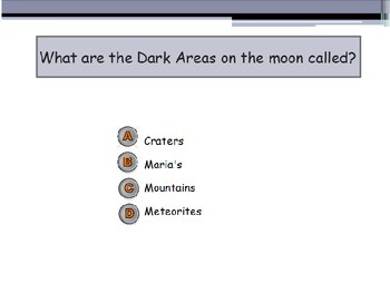 Astronomy - The Surface of the Moon (POWERPOINT)