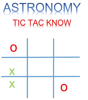Astronomy Tic Tac Know