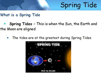 Astronomy - Tides w/worksheet (SMART BOARD)
