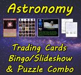 Astronomy Trading Cards, Bingo/Slideshow and Puzzle Combo