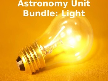 Astronomy Unit Bundle - Light