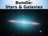 Astronomy Unit Bundle: Stars & Galaxies