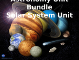 Astronomy Unit Bundle: The Solar System