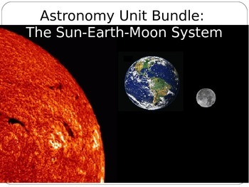 Astronomy Unit Bundle The Sun Earth Moon System By Science Land