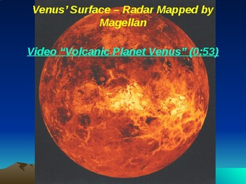 "Astronomy Unit II Lesson II PowerPoint ""Spacecraft Exploration - Solar System"""