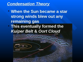 """Astronomy Unit II Lesson III PowerPoint """"Formation of Planetary Systems"""""""