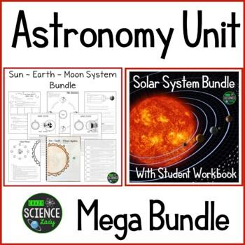 Astronomy Unit Mega Bundle with Student Workbooks