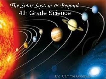 Astronomy Unit - Solar System & Beyond 4th Grade Science