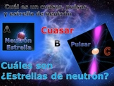 Astronomy Unit in Spanish