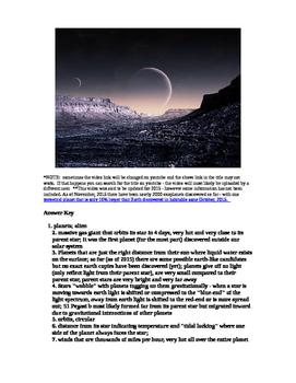 "Astronomy Video ""Universe: Alien Planets"""