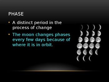 Astronomy Vocabulary