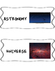 Astronomy Word Wall
