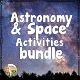 Space and Astronomy Activities Bundle