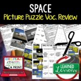 Solar System & Planets Picture Puzzle Study Guide Test Prep