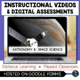 Astronomy and Space Instructional Videos & Digital Quiz -