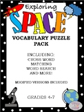 Astronomy and Space Puzzle Pack