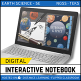 Astronomy and Space Science DIGITAL NOTEBOOK - Google / Di