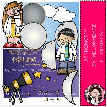 Astronomy clip art - COMBO PACK- by Melonheadz
