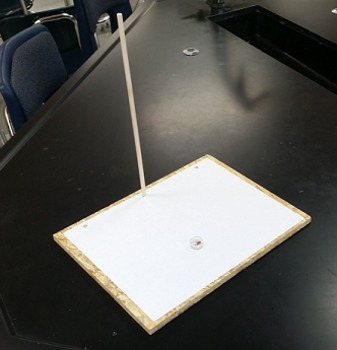 Astronomy/Earth Science Lab Activity - Tracking the Sun across the sky - 2D