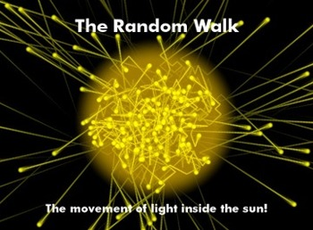 Astronomy/Earth Science Lab Activity - The Random Walk of Photons in a Star.