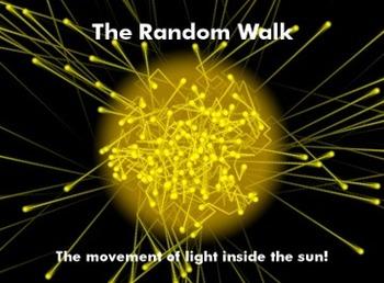 Astronomy/Earth Science Lab Activity - The Random Walk of