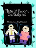 Astronaut Planets' Report Craftivity Set