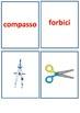 Astuccio (pencil box) memory flashcards
