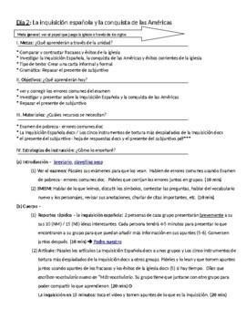 Asuntos religiosos: IB Spanish unit plans