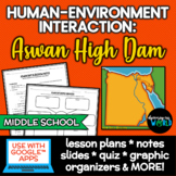 Aswan High Dam Geography & Human-Environment Interaction Lessons