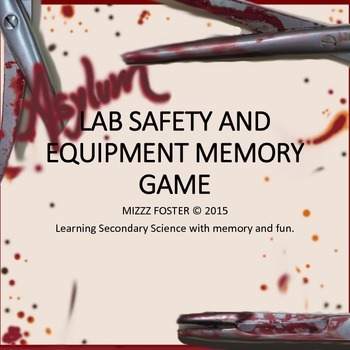 Lab Safety and Equipment Asylum Memory Game