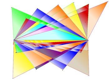 Asymmetrical  Star -A 4th grade Geometry Project