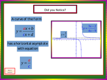 Asymptotes and Some Rational Functions