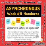 Asynchronous Choice Board #11 - High-Interest Honduran Cul