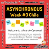 Asynchronous Choice Board #3 - High-Interest Chilean Cultu