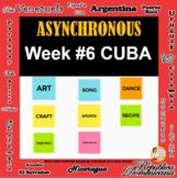 Asynchronous Choice Board #6 - High-Interest Cuban Culture