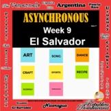 Asynchronous Choice Board #9 - High-Interest El Salvadoria