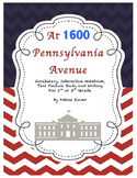 At 1600 Pennsylvania Avenue - Vocabulary, Interactive Notebook, Writing and More