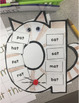 """At Cat"" At Family Words Craftivity"