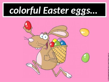 At Easter (an Easter book about the 5 senses)
