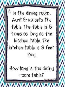 At Grandma's: A multiplicative comparison adventure {common core aligned}