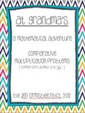 At Grandma's: A multiplicative comparison adventure {commo
