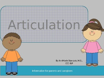 At Home Articulation Practice