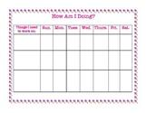 At Home Behavior Chart