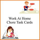 Work At Home Chore Task Cards