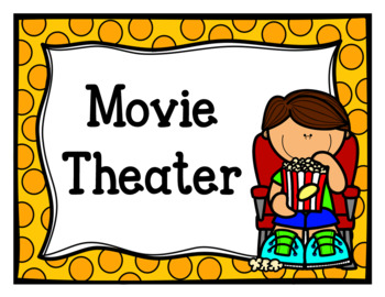 At Home Cinema (Dramatic Play)