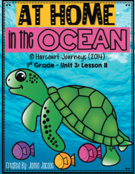 At Home In the Ocean: First Grade - Supplemental Resources #11