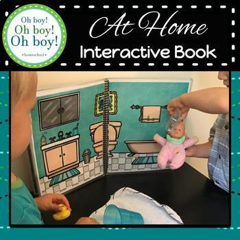 At Home Interactive Activity Book