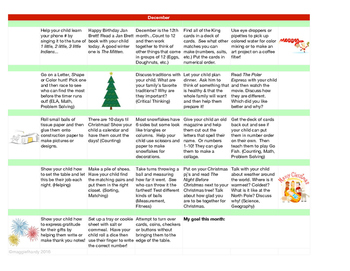 At Home Learning Calendar Bundle - Learn All Year Long!